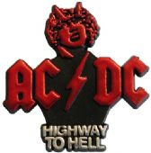 AC/DC - 'Highway to Hell' Plastic Badge